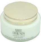 WHITE DIAMONDS de Elizabeth Taylor Mujer. BODY CREAM 252 ML